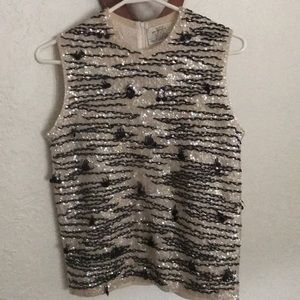 BEAUTIFUL vintage hand beaded sweater